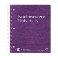 Roaring Springs 3 Subject Imprinted Notebook