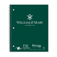Roaring Spring 1 Subject Notebook, College Ruled