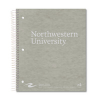 Roaring Spring Imprinted 4 Subject Notebook, 200 Sheets