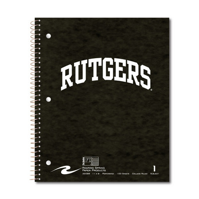 Roaring Springs 1 Subject Imprinted Notebook