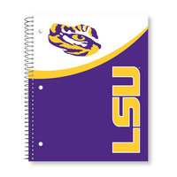 Roaring Spring Digi Top Split Cover Notebook, 3 Subject, 120 Sheets