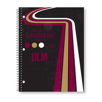 Roaring Spring Digi Retro Cover One Subject Notebook