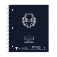 Roaring Spring Imprinted 1 Subject Notebook, Linen