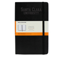 Moleskine Large Notebook with Debossed School Name, Ruled