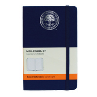 Moleskine Pocket Notebook with Foil Stamped Seal, Ruled