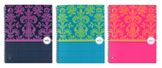 Prints Charming 1 Subject Notebook (10.5 x 8.5)