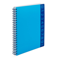 Poppin Pool Blue You Rule 3 subject Notebook
