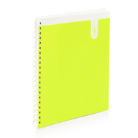 Poppin Lime Pocket Book 1subject Notebook