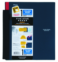 1 Subject Advanced Notebook With Pockets And Index Cards