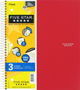 Five Star Wirebound Notebook - 3 Subject