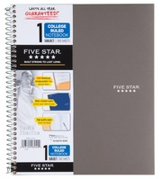 Five Star Trend 11X85 Wirebound Notebook  1 Subject
