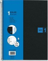 Blue Poly Notebook