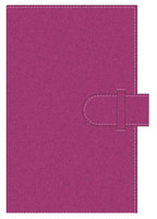 Pierre Belvedere Fuchsia Pink Refillable Journal, A5