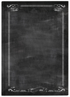 Pierre Belvedere Chalkboard Journal