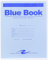 Blue Examination Book-8.5X7 32 Page