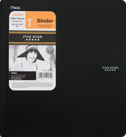 Five Star 1 Inch Poly Binder