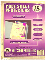 Better Office Products Sheet Protector