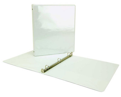 Acco 1 inch View Binder White
