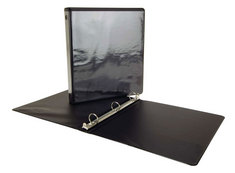 1 inch View Binder Black