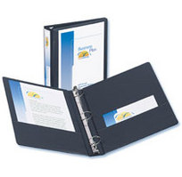 1 1/2'' View Binder Black