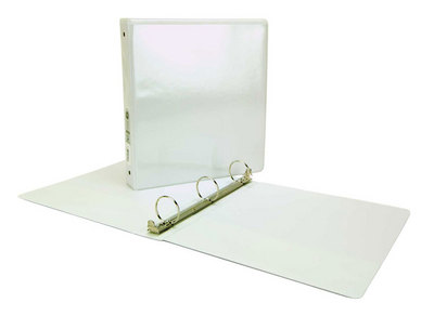 2 View White Binder