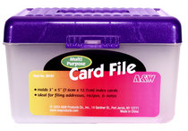 3X5 File Box Assorted Colors