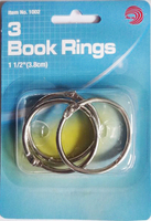 Book RingsFor Loose Leaf