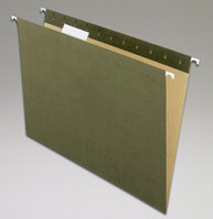 Pendaflex 100% Recycled Green Letter Size Hanging Folders 25 Ct