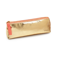 Pencil Pouch, Gold