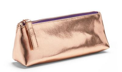 Poppin Pencil Pouch, Copper