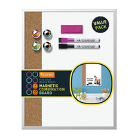 VALUE PAK 11x14 COMBO DRY ERASE BOARD