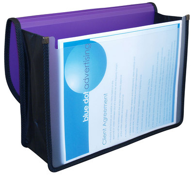 Document Case Elastic Closure