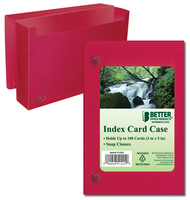 Better Index Card Case with Snap Closure