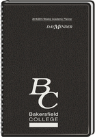 Black Imprinted Academic Planner 2014 15 Ed