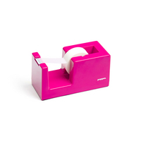 Poppin Pink Tape Dispenser with  Tape