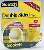 3M Scotch Double Sided Tape, 12 Inches X 250 Inches