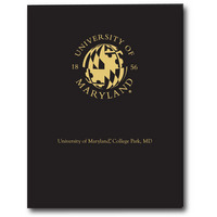 Imprinted Laminated Jumbo Pocket Folder 12x9 Capacity