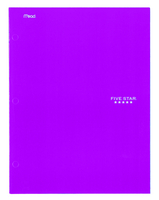 FIVE STAR 4 POCKET FOLDER (ASSORTED COLORS)