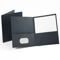 Esselte 2 Pocket Paper Portfolios Red