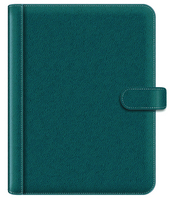 Teal Leather Padfolio