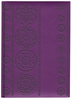 Pierre Belvedere Large Cecile Purple Journal