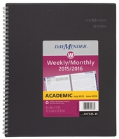 2015 2016 AT A GLANCE Academic Weekly & Monthly Planner