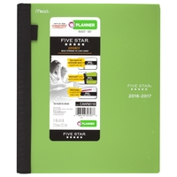 Five Star Advance Weekly and Monthly Student Planner for Academic Year, Large (Assorted Colors)