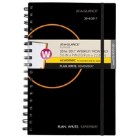 At A Glance PWR Weekly and Monthly Planner for Academic Year, 2016  2017 (Assorted Colors)