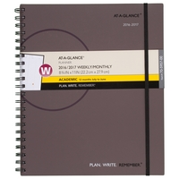 At A Glance PWR Weekly and Monthly Appointment Book for Academic Year, 2016  2017 (Assorted Colors)