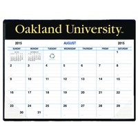 Academic Vinyl Pad Calendar, Aug 2015 through Dec 2016