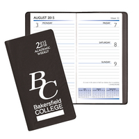 Weekly Academic Pocket Planner, Aug 2015 through July 2016