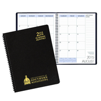 Monthly Academic Appointment Planner, Aug 2015 through Dec 2016
