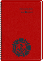 2015 2016 AT A GLANCE Imprinted DayMinder Academic Weekly Planner, Red