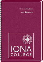 2015 2016 AT A GLANCE Imprinted DayMinder Academic Weekly Planner, Maroon